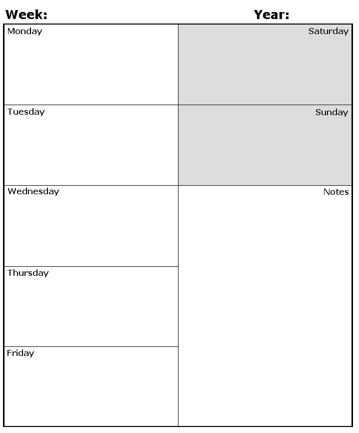 Ipadpapers Com Weekly Calendar Paper Templates